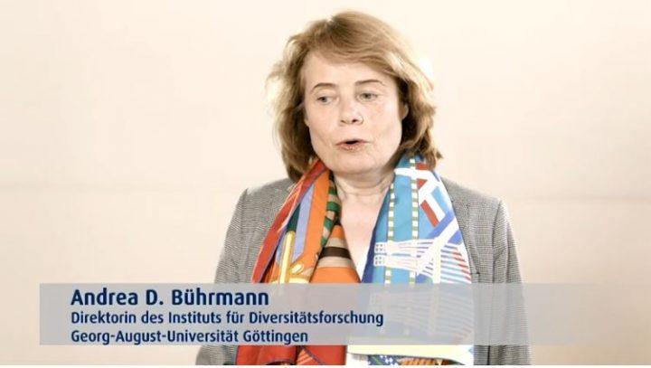 Filmstill mit Andrea D. Bührmann